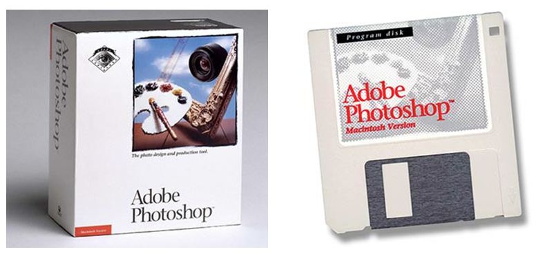 Adobe Photoshop 1.0
